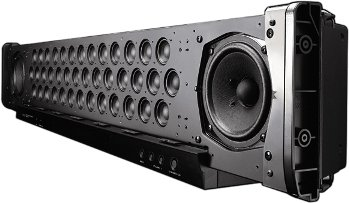 YSP-4000 - showing off the speakers