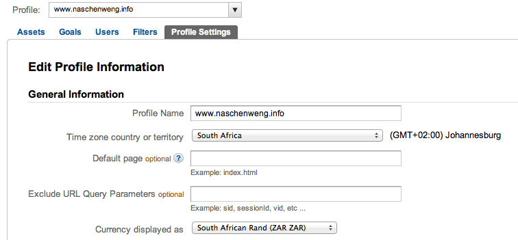 Google Analytics is now supporting South African Rand