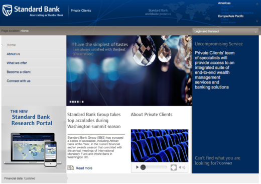 Standard Bank Private Banking
