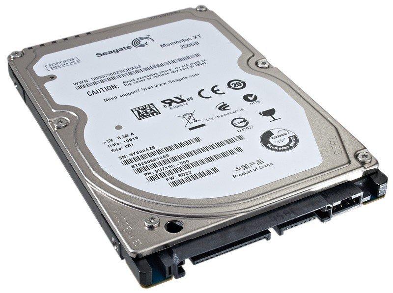 Seagate Momentus 500GB Hybrid SSD drive