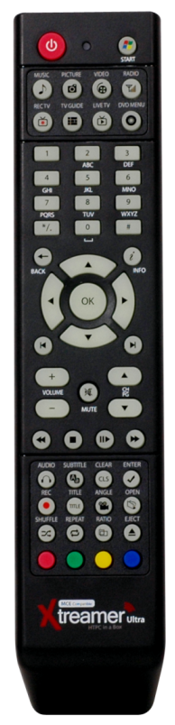 Xtreamer infrared remote