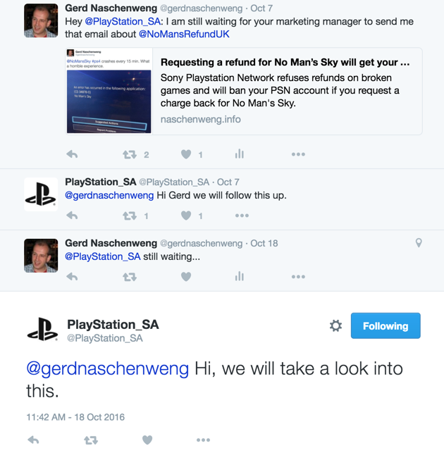 Playstation South Africa does not honor Consumer Protection Act ...