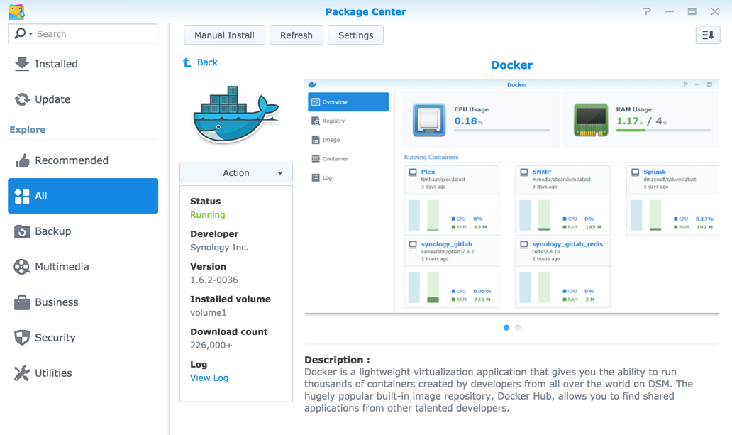 Run Sonarr via Docker on Synology DSM 6 0 | naschenweng info