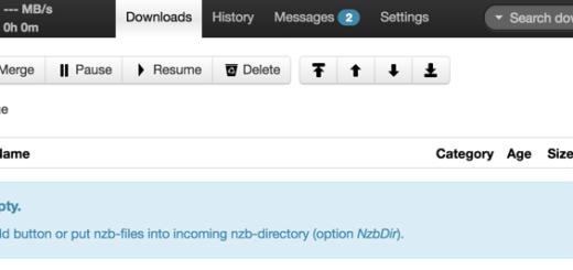 Run NZBGet via Docker on Synology DSM 6.0