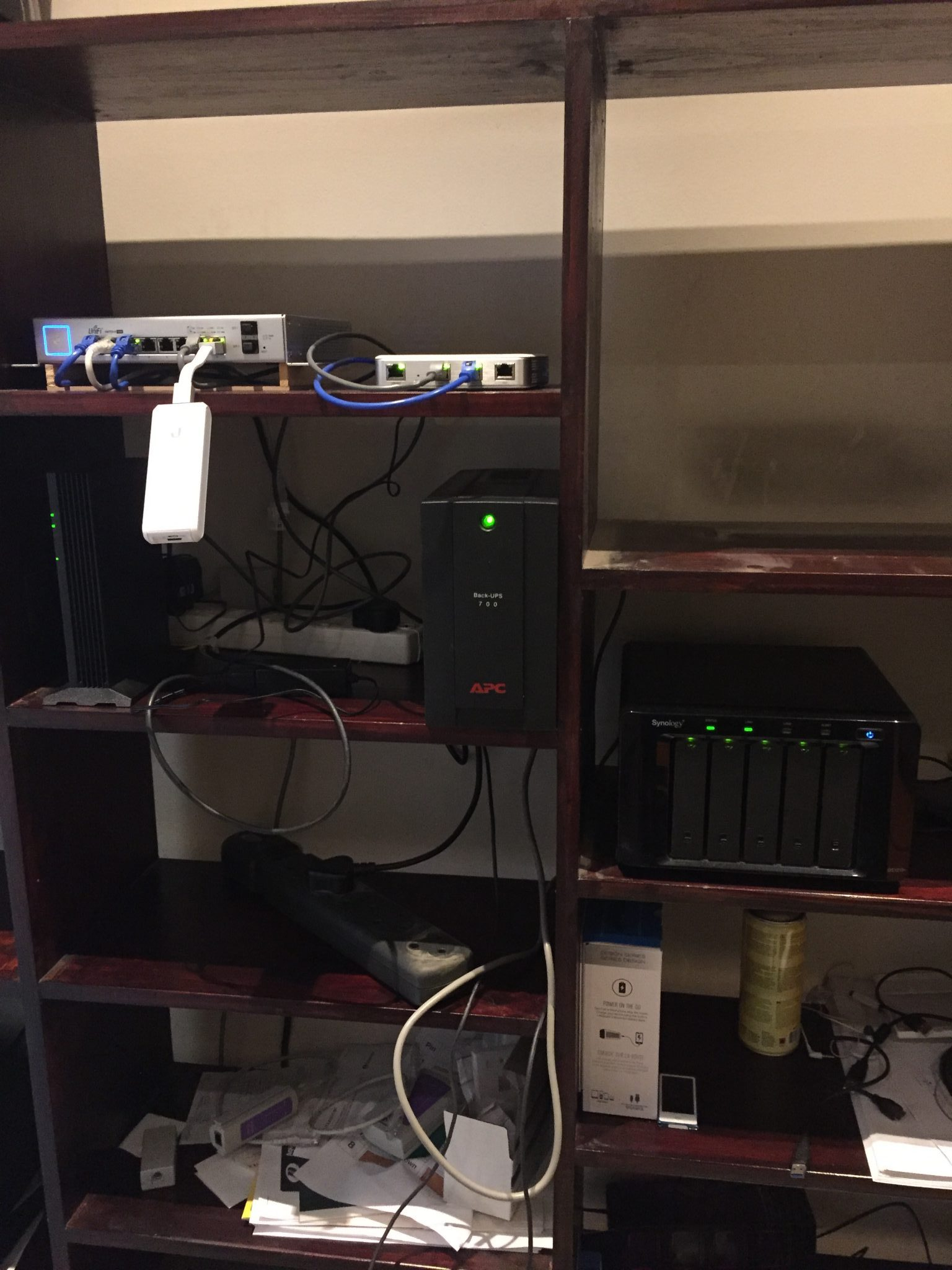 Recabling my home network with Ubiquiti and Cat6 - lessons learned