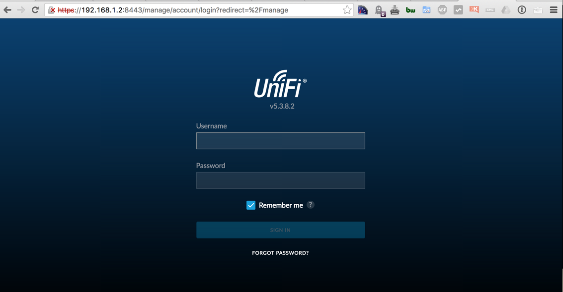 Securing UniFi Cloud Key with SSL certificate from RapidSSL