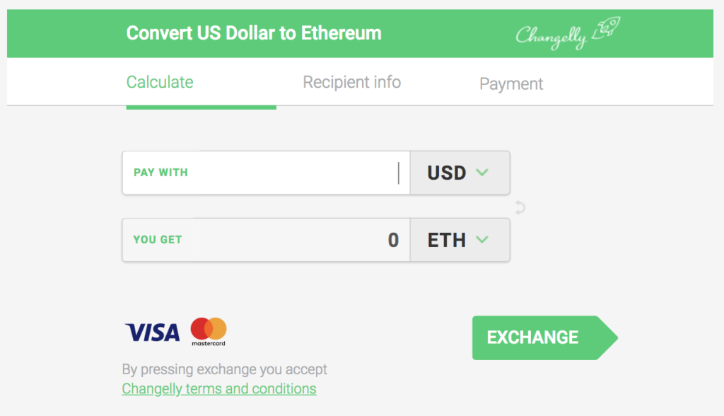 Alternatively use Changelly for credit card payments (clicking on the image  below will open a Changelly window where you can instantly buy):