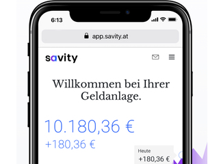 Savity Robo Advisor - Get a €50 referral bonus when signing up